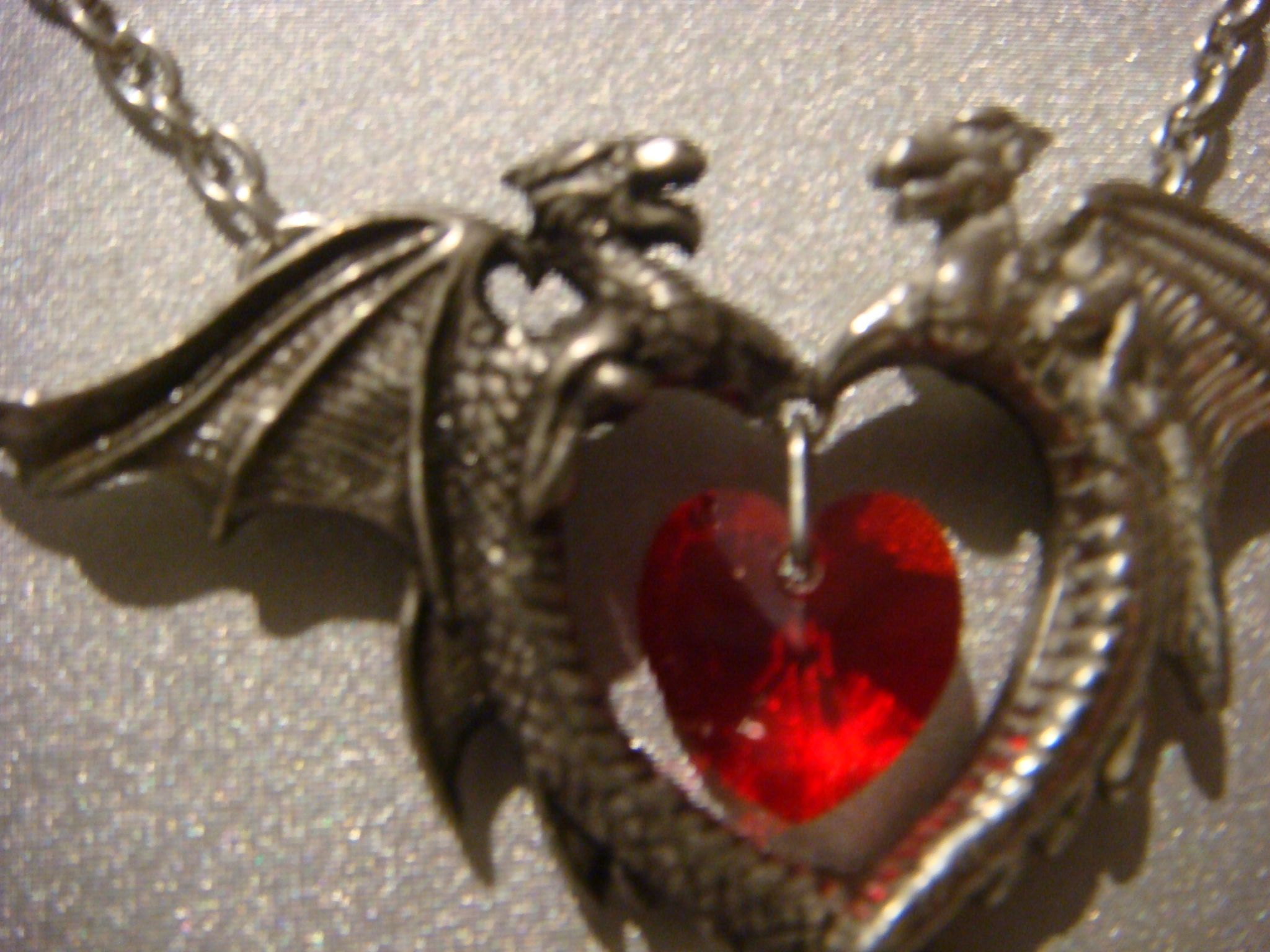 Alchemy gothic pendant necklace in pewter dragon heart coeur sauvage mozeypictures Gallery